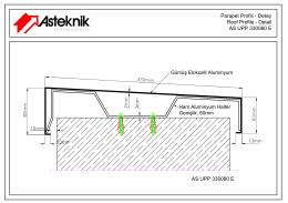 Parapet Profili - Detay Roof Profile