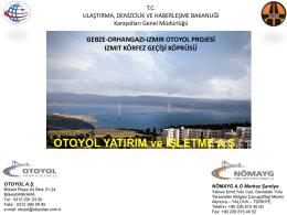 OTOYOL YATIRIM ve İŞLETME A.Ş.