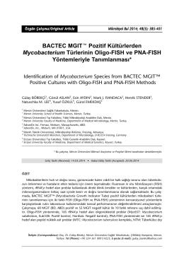 PDF - Mikrobiyoloji Bülteni