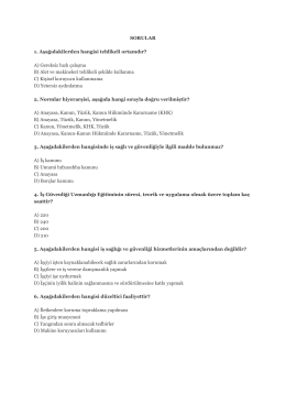İSG Deneme Sınavı 08