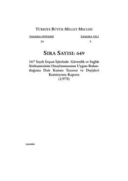 649 - Türkiye Büyük Millet Meclisi