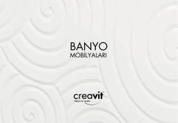 2014 Banyo Mobilyası Broşürü