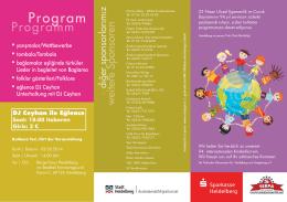 Flyer Kinderfest - Die Stadtredaktion
