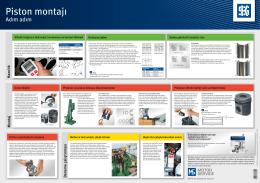 Piston montajı - MS Motorservice Deutschland