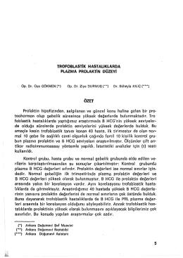 5-14 - Zeynep Kamil Tıp Bülteni