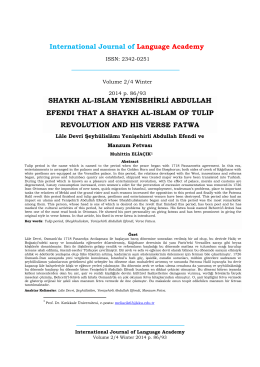 International Journal of Language Academy SHAYKH AL