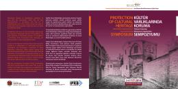 kültür varlıklarında koruma sempozyumu protectıon of cultural