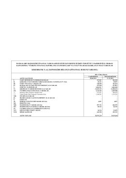 Şekerbank 30.06.2014 BDDK-UFRS