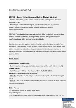 EMFAD® – UG12 DS