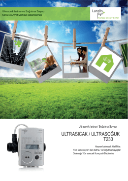 ultrasıcak / ultrasoğuk t230