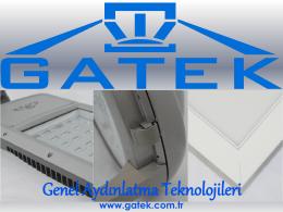 Katalog - GATEK Genel Aydınlatma Teknolojileri