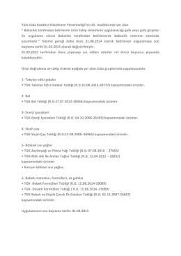 Ürün Doğrulama ve Takip Sistemi (UDTS)