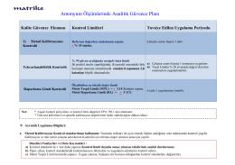 Amonyum ölçümlerinde Analitik Kalite