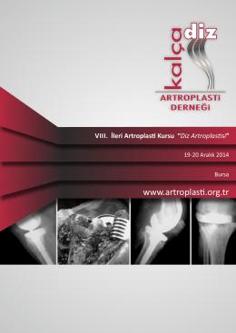 VIII. İleri Artroplas Kursu