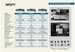 sp 8832 teknik broşür