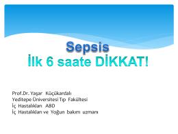 Prof.Dr. Yaşar Küçükardalı Yeditepe Üniversitesi Tıp Fakültesi İç