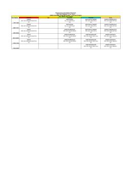 Ders Saatleri Pazartesi Salı Çarşamba Perşembe Cuma 17:40-18