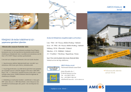 AMEOS Klinikum Inntal Kliniğimiz´de tedavi olabilmeniz için
