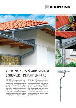 Yağmur İndirme Sistemi Kataloğu 2