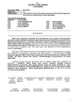 tc kocaeli il özel idaresi il encümeni