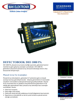 DIO 1000 Phased Array