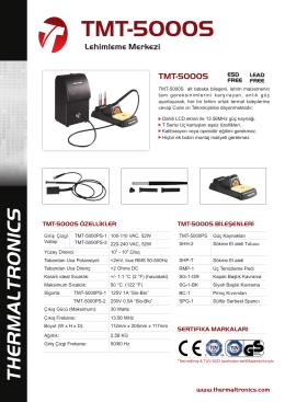 TMT-5000S - Thermaltronics