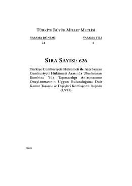 626 - Türkiye Büyük Millet Meclisi