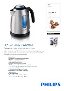HD4667/20 Philips Su ısıtıcı