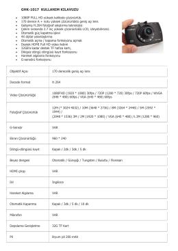 ghk-1017 kullanım kılavuzu