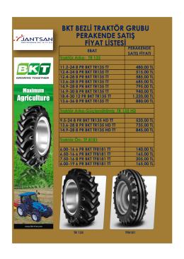 bkt bezli traktör grubu perakende satış fiyat listesi
