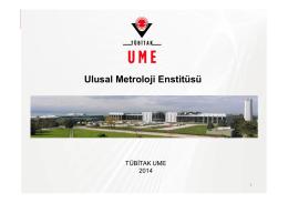 TÜBİTAK UME: Görevleri - Ulusal Metroloji Enstitüsü