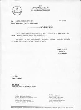 ffi#ğ - mut ilçe millî eğitim müdürlüğü