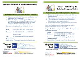 Neuer Vätertreff in Vingst/Höhenberg