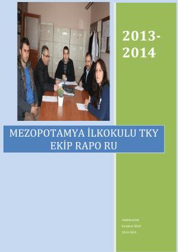 mezopotamya ilkokulu tky ekip rapo ru