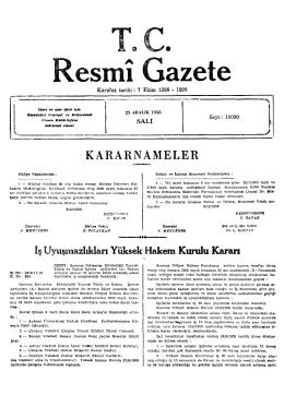 R esmı azete - Resmi Gazete