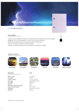 EGS Gürültü Sensörü