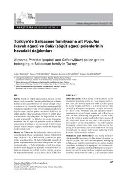 157-170 Adem Bicakci.indd - AAI: Astim Allerji Immunoloji