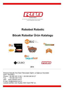 Robobot Robotic Böcek Robotlar Ürün Katalogu