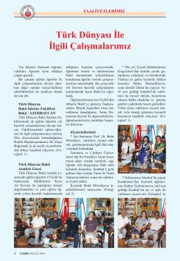 Sayfa 4 - Türk Dünyası Araştırmaları Vakfı