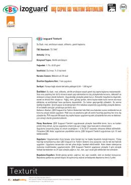 Texturit - ÇBS İzoguard