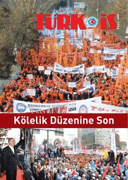 TÜRK-İŞ Dergisi 400. sayı