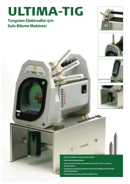 Tungsten Elektrodlar için Sulu Bileme Makinesi