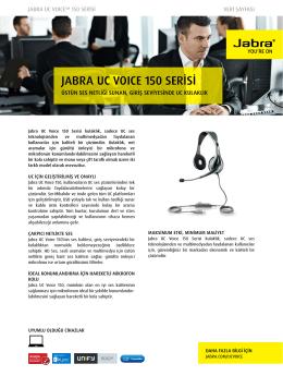 JABRA UC VOICE 150 SERİSİ