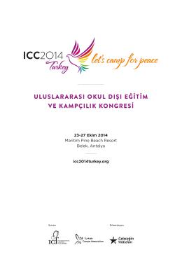uluslararası okul dışı eğitim ve kampçılık kongresi