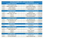 İGL_2015 TÜM SEZON - İstanbul Basketbol Ligleri