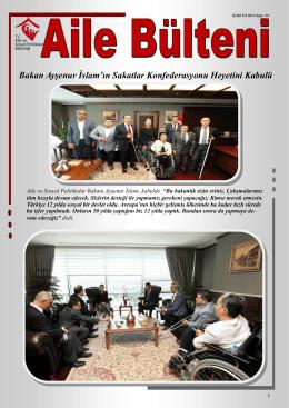 Eylül 2014 - Aile ve Sosyal Politikalar Bakanlığı