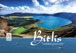 """Bitlis""""Vadideki güzel şehir"""""""