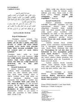 İl: İSTANBUL