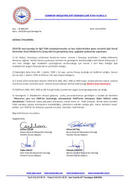 2014.12.31 İK-BŞK-220 İcra Kurulu ortak duyurusu