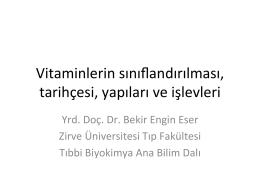 Vitaminler ve Mineraller-Fizyoterapi-05.11.2014